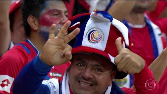Conheça a Costa Rica, adversária do Brasil na primeira fase da Copa 2018