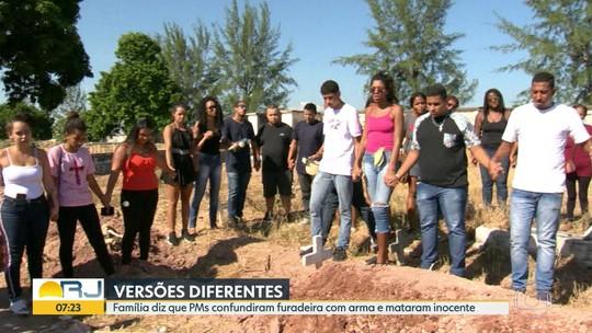 Jovem morto na Taquara é enterrado