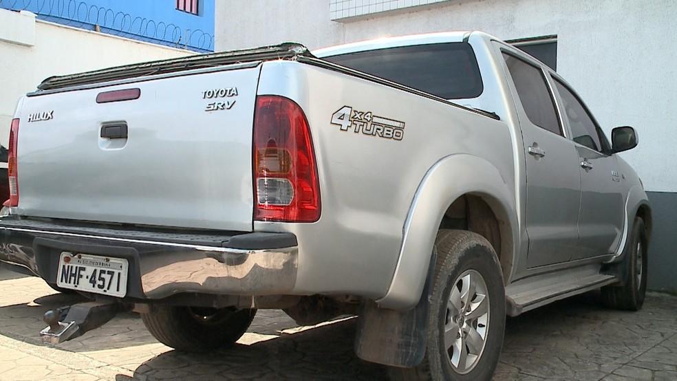 Maria Gorete Lima dos Santos foi encontrada morta dentro do carro em Paço do Lumiar — Foto: Reprodução/TV Mirante