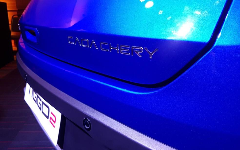 Após fusão, fabricante passou a se chamar Caoa Chery — Foto: Peter Fussy/G1