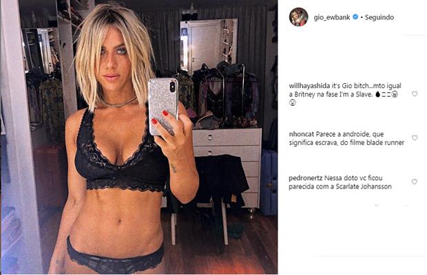 Giovanna Ewbank ganha comparações em novo clique (Foto: Reprodução/Instagram)