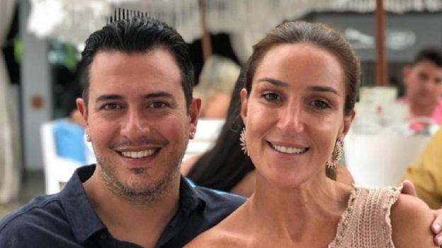 Bernardo e Patrícia Schucman estão correndo para conseguir o visto para os Estados Unidos (Foto: Arquivo Pessoal / via BBC News Brasil)