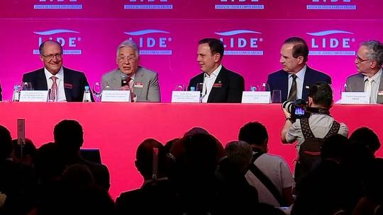 Em evento com Alckmin e Doria, FHC defende prévias do PSDB para definir candidato à Presidência