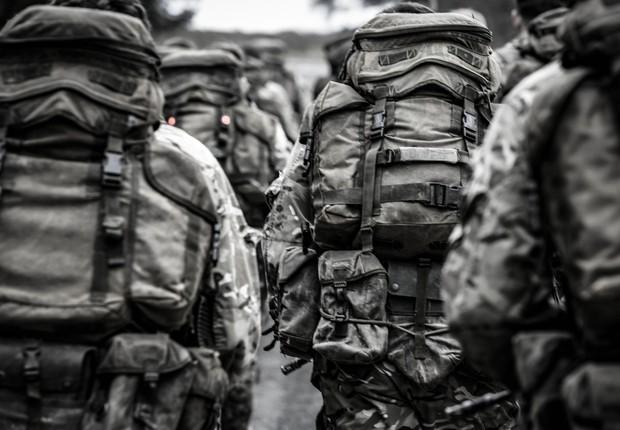 soldado ; exército ; forças armadas (Foto: Pexels)