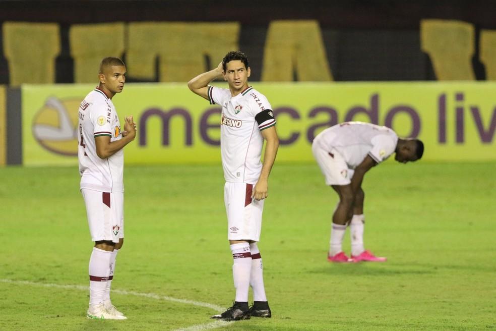 Ganso em Sport x Fluminense pela Série A — Foto: Aldo Carneiro / Pernambuco Press