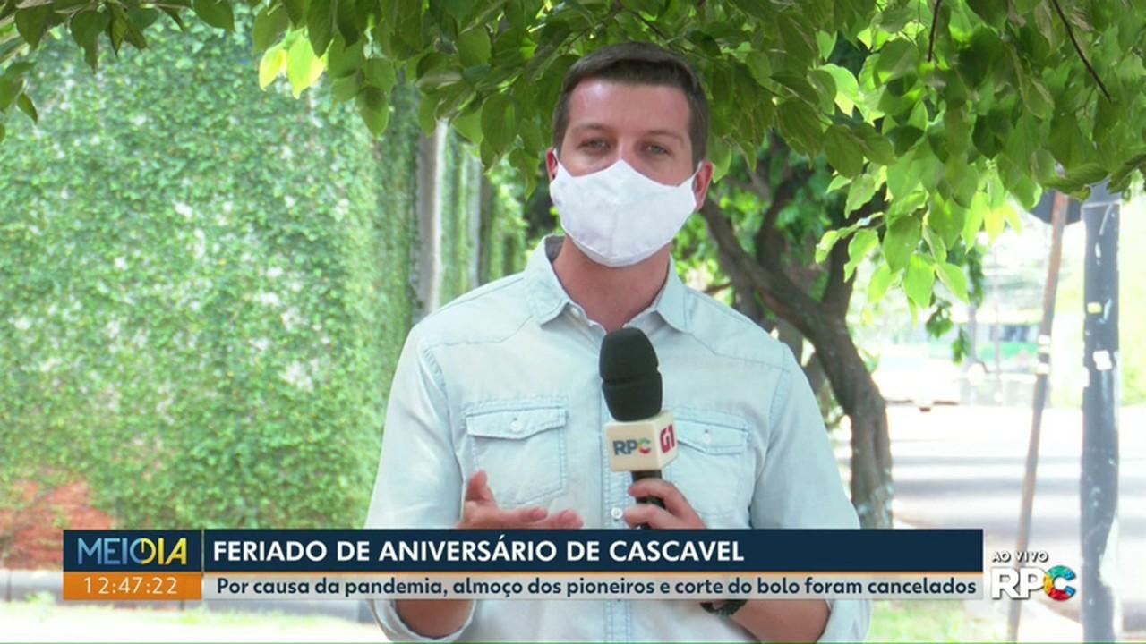 Por causa da pandemia, algumas comemorações do aniversário de Cascavel são canceladas