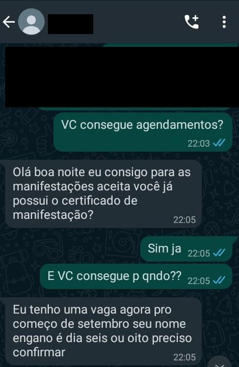 Brasileira finge trabalhar no SEF para aplicar golpes em imigrantes