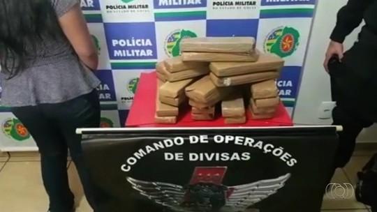Adolescente é apreendida com droga dentro de ônibus em Cachoeira Alta