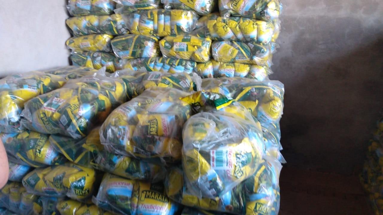 Polícia apreende, no interior do Maranhão, 700 fardos de café que foram roubados no Piauí