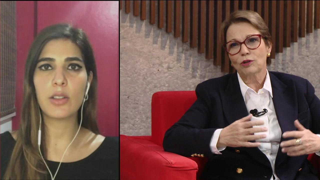 Sadi: Ala do governo quer Tereza Cristina como sucessora de Maia