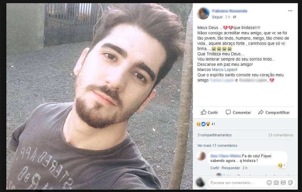 Ciclista de 27 anos morre ao ser atropelado por carro em rodovia de Cerquilho (Foto: Reprodução/Facebook)