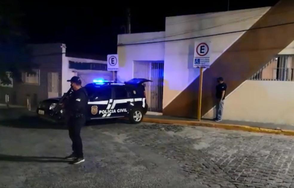 Polícia Civil prende suspeito de estupro de jovem de 20 anos com deficiência em Macaíba, na Grande Natal — Foto: Cedida