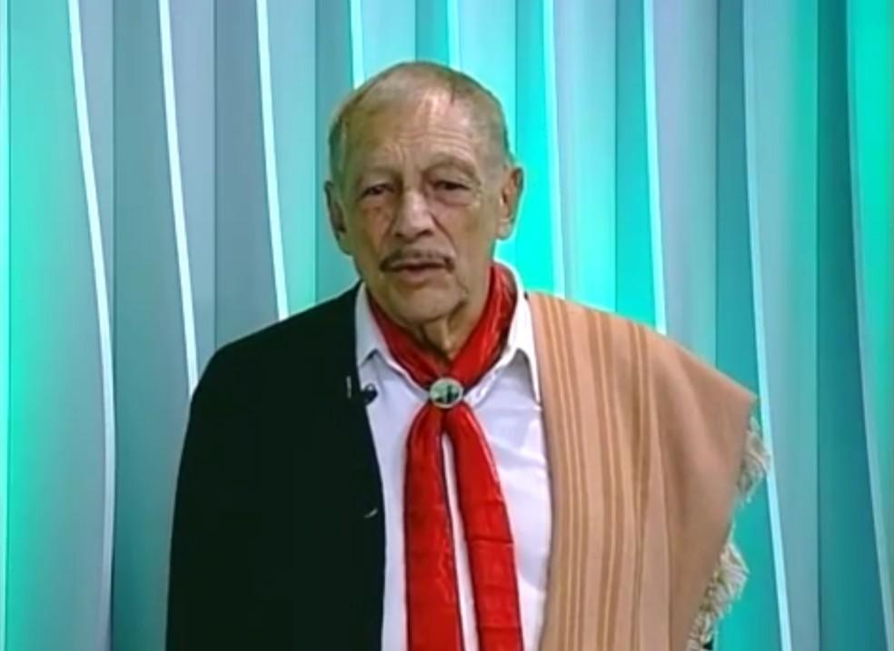 Músico Adelar Bertussi morre aos 84 anos (Foto: Reprodução/RBS TV)