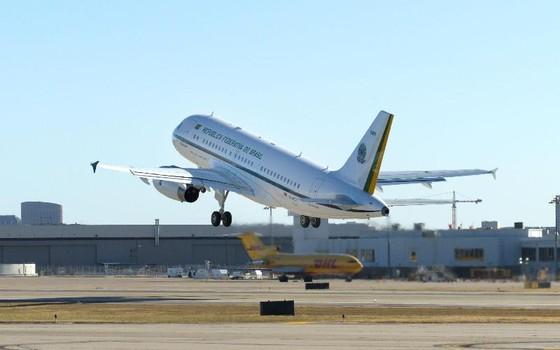 O avião presidencial (Foto: Divulgação/EBC)