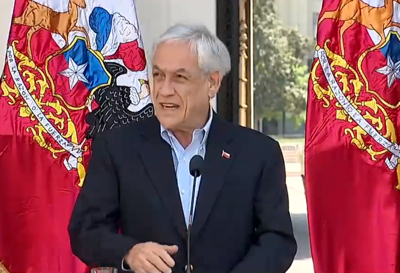 Presidente do Chile anuncia ajuda bilionária para classe média durante crise do novo coronavírus thumbnail
