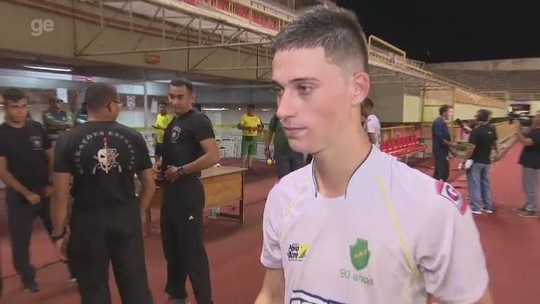 Autor de gol de triunfo do Náuas diz que jejum de vitórias motivou equipe contra o Humaitá