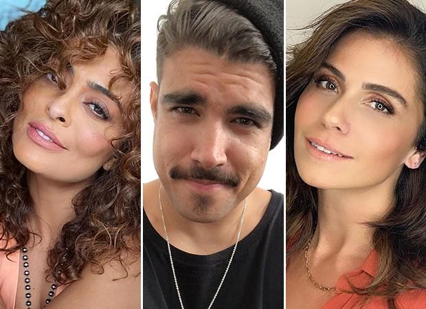 Juliana Paes, Caio Castro e Giovanna Antonelli (Foto: Reprodução/ Instagram)