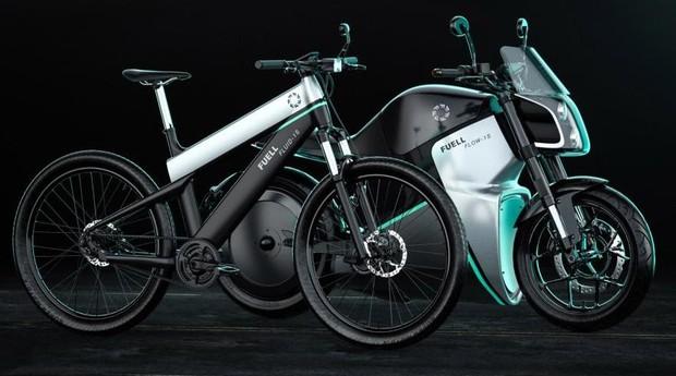 Moto e bicicleta elétricas da Fuell (Foto: Fuell/Divulgação)
