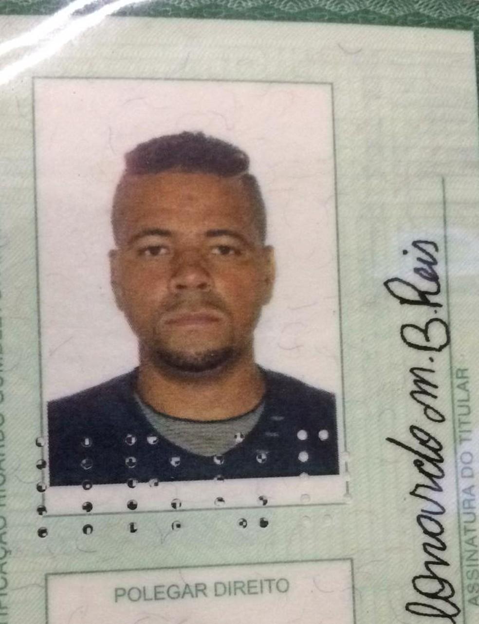 Leonardo Manoel Barbosa Reis morreu em desabamento de prédio em São Roque (Foto: Carlos Dias/G1)