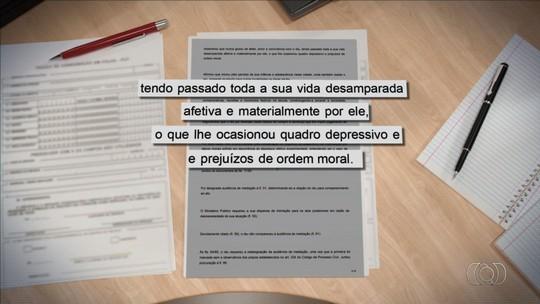 Pai é condenado a pagar R$ 100 mil por abandono afetivo de estudante de medicina, em Goiás