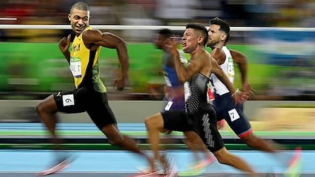 Mbappé ou Bolt, o tempo vai dizer