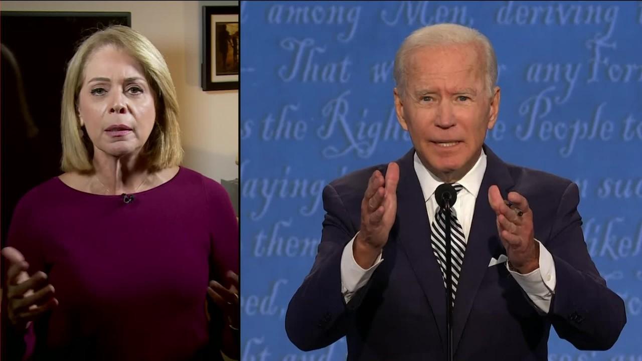 Sandra: 'Biden ficou confuso com os berros de Trump'