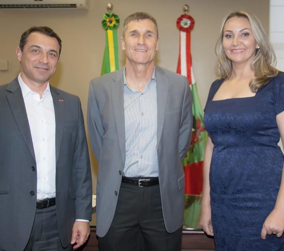Carlos Hassler foi anunciado como próximo secretário da Infraestrutura de SC — Foto: Susi Padilha/Divulgação