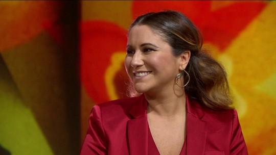 Maria Rita casa de papel passado com o samba em disco 'Amor e Música'