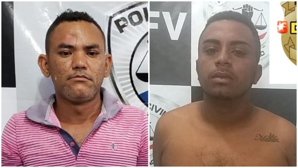 Matheus Ferreira e Jorge Henrique foram presos por suspeita de participar de esquema de falsificação de documentos em São Luís — Foto: Divulgação/Polícia Civil