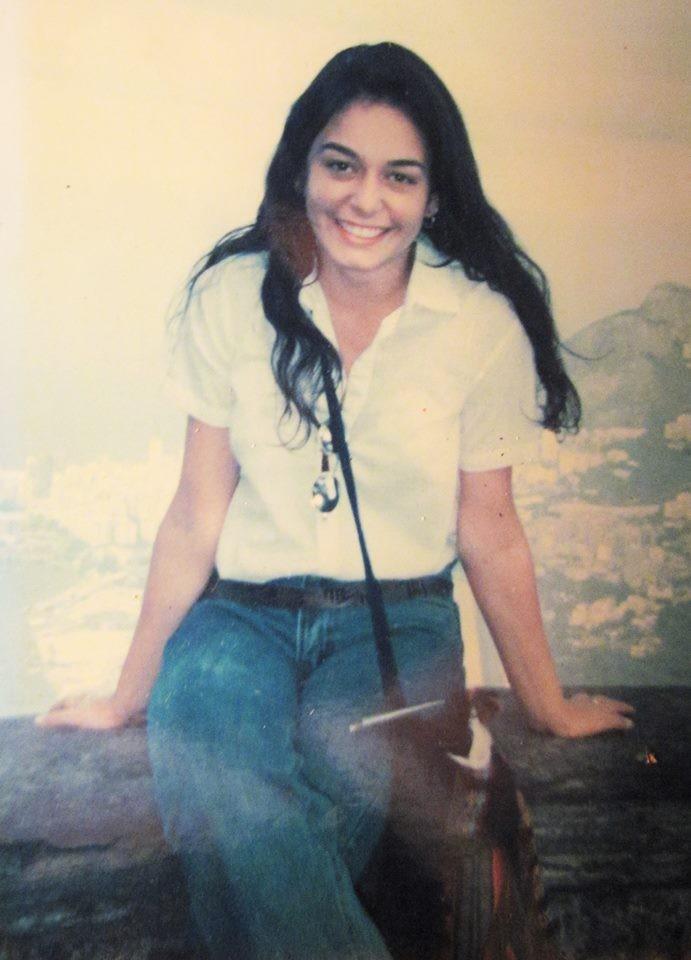 Sabrina Bittencourt aos 15 anos (Foto: Reprodução/Facebook)