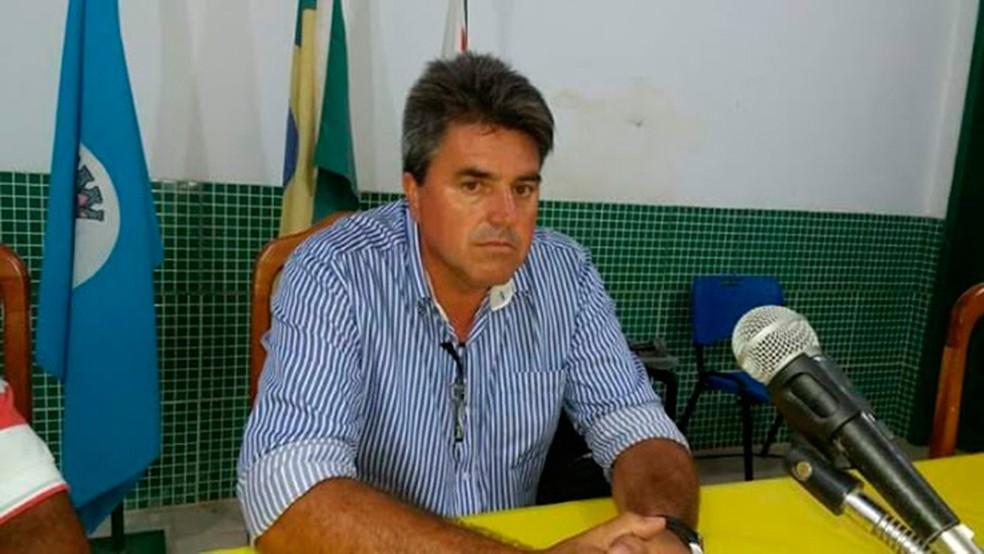 Prefeito Vilson Gonçalves (MDB), do município de Aveiro, no Pará — Foto: Reprodução/Redes Sociais