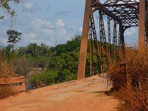 Região dos municípios de Nova Mamoré e Costa Marques possuem as rodovias com piores condições de RO (Foto: Reprodução/Pesquisa CNT)