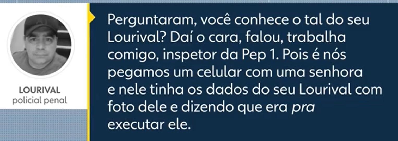 Mensagens mostram que agente penitenciário morto a tiros em Piraquara estava sendo ameaçado