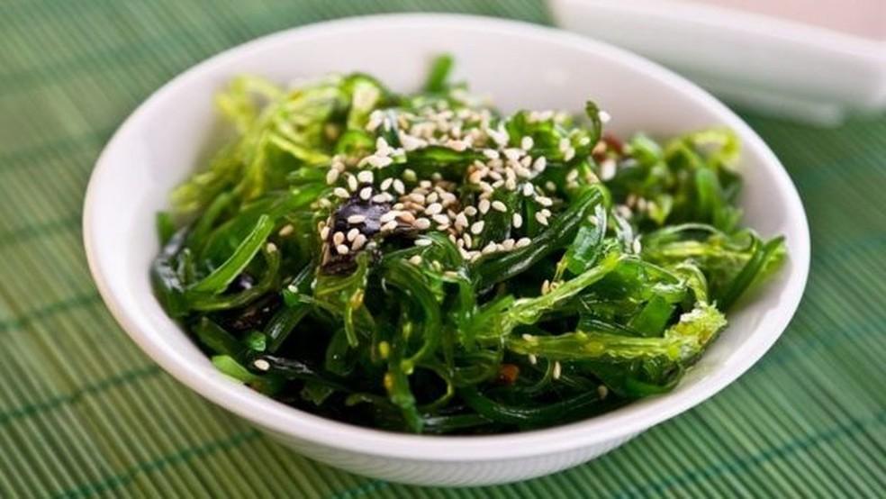 As algas são parte do cardápio japonês — Foto: Getty Images