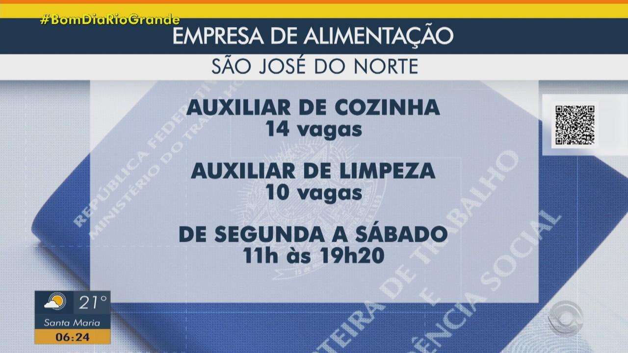 Empresa oferec 24 vagas em São José do Norte