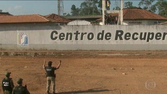 7 presos são mortos durante rebelião no Pará