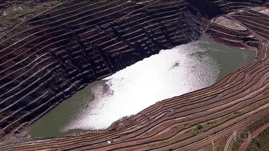 Aumenta deslocamento de parede de mina da Vale em Barão de Cocais