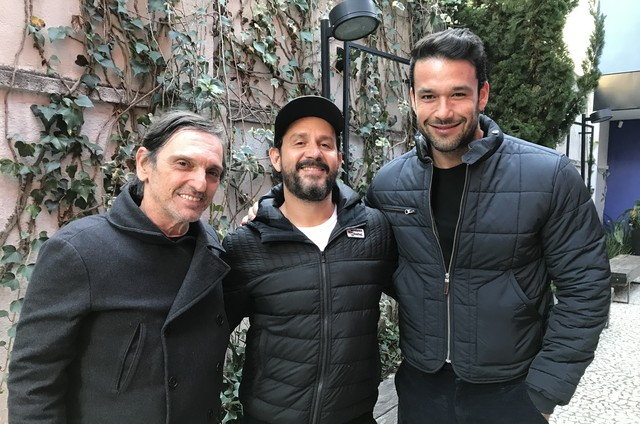 Paulo Miklos, Aly Muritiba e Sergio Marone (Foto: Divulgação)