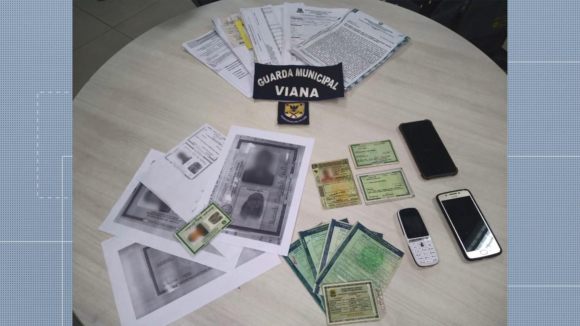 Três homens são presos suspeitos de estelionato em Viana, ES