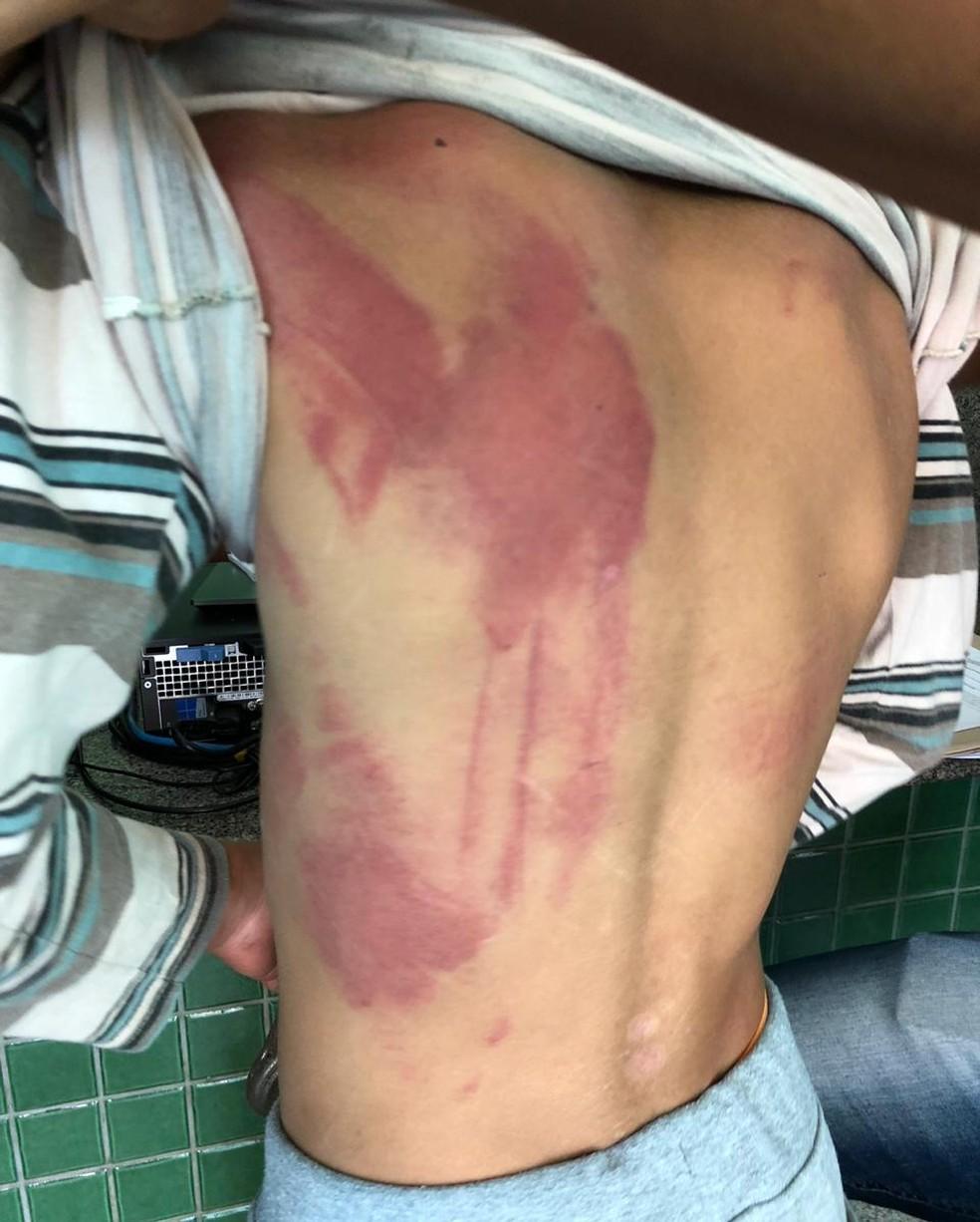 Violência doméstica aconteceu em Sobradinho-DF — Foto: Foto: PCDF