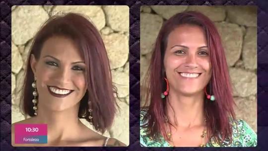 'Tapa no Visual': Moradora de São Gonçalo recebe transformação no quadro do 'Mais Você'