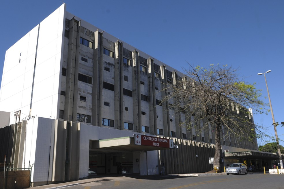 Fachada do Hospital de Base de Brasília — Foto: Gabriel Jabur/Agência Brasília