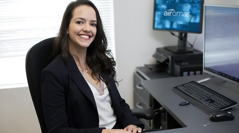 Eliana Machado, paulista de Osasco, sócia da Airomas (Foto: Divulgação)