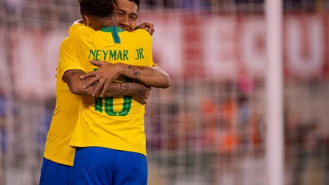 Roberto Firmino Brasil Estados Unidos seleção brasileira
