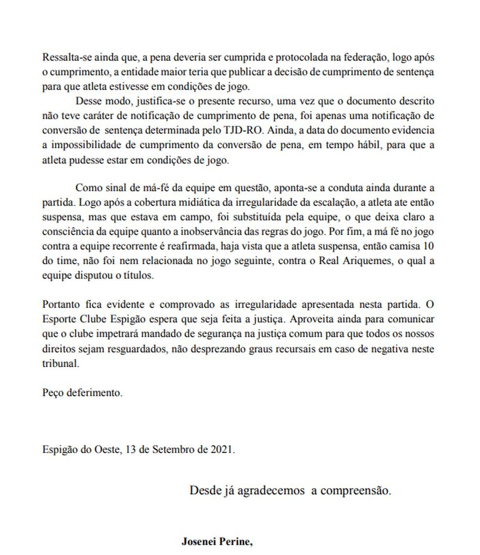 Caso Espigão — Foto: Divulgação