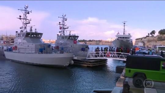 49 imigrantes desembarcam em Malta