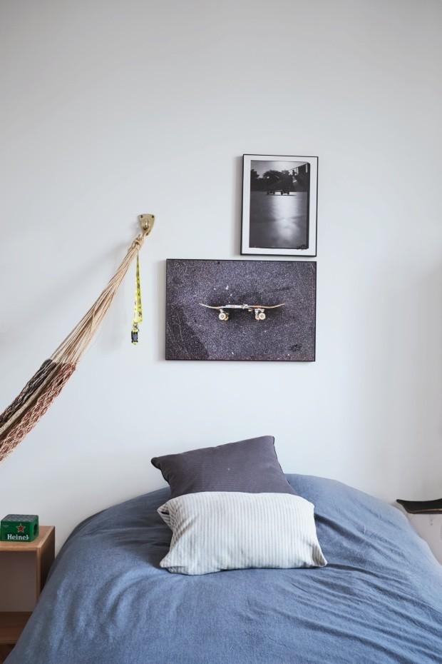 O apartamento de Marcelo Rosenbaum: repleto de verde e brasilidade (Foto: Ilana Bessler)