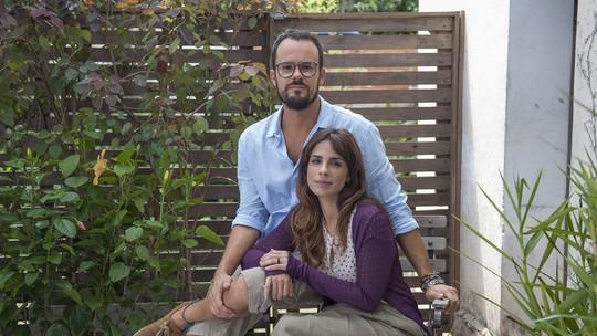 Maria Ribeiro, Paulo Vilhena e a diretora Laís Bodanzky falam sobre o filme 'Como Nossos Pais'