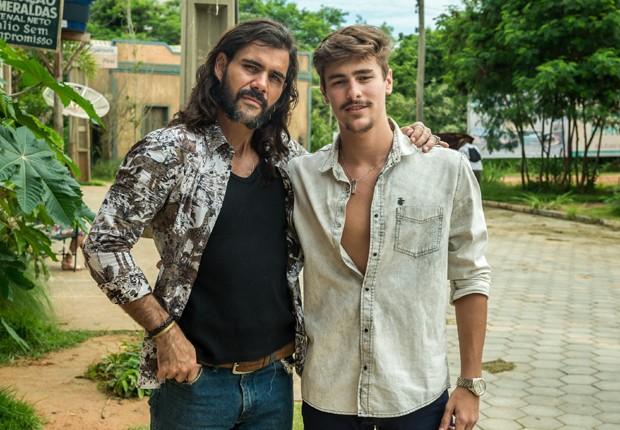 Juliano Cazarré e Brjuno Montaleone (Foto: Divulgação/TV Globo)