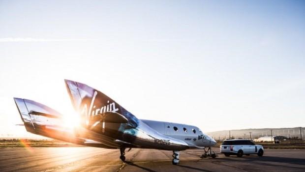 Aeronave da Virgin Galatic (Foto: Virgin Galatic)
